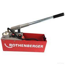 Rothenberger Prüfpumpe RP50-S Druckprüfpumpe 60200 Solarbefüllung Füllpumpe