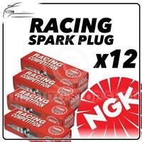 12x NGK RACING SPARK PLUGS Part Number BR10EG Stock No. 3830 Genuine SPARKPLUGS