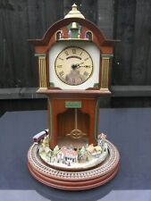 Vintage Bradford Edition Exchange Flying Scotsman Clock with Moving Train // 1