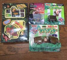 Super Donkey Kong rare vintage 90's plastic toy figure set nintendo takara