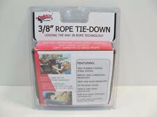 "Quickie Tie-Down 12' x 3/8"" Original Rope Pulley 500lb Load Military Certif"