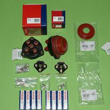 REP KIT 8x NGK Bosch de distribución capuchón rotor BBT cable de encendido MB w126 r107 v8 a partir de 1987