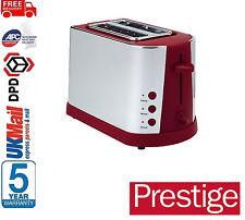 "** NEUF ** Prestige Acier Inoxydable 56773 Grille-Pain 2 Fentes avec Auto ""pop up"""