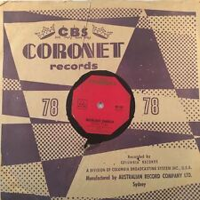 "DON CHERRY Fourteen Karat Gold 78rpm 10"" Shellac Record (7151)"