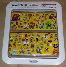 New Nintendo 3DS Cover Plates Super Mario Maker  / NEW