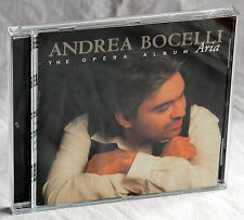 CD ANDREA BOCELLI-the opera album ARIA