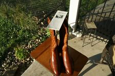 LUCCHESE New Vintage 40 Yrs Old San Antonio Cowboy Boots Brown Leather Mens 10D