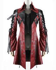 Cappotti e giacche da uomo in pelle sintetica con cerniera con colletto