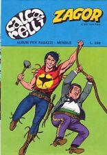 CALCARELLI ZAGOR - SERIE COMPLETA (4) - 1977 / 1978 - RARI