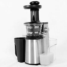 Brand New Stainless Steel 250W Slow Juicer SlowJuicer w/Warranty and More Power