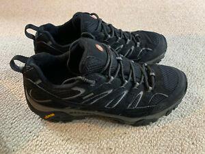 Merrell Moab 2 Gore Tex men's trainers | black/grey | size 9.5 | new