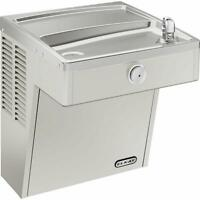 Elkay VRC8S 7.8 GPH Wall Mounted Single Drinking Fountain - Stainless Steel