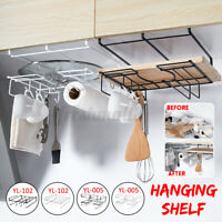 Iron Wall Storage Shelf Retro kitchen Industrial Style Metal Wire Hanging Rack