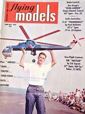 Flying Models Magazine Don Krupp's Wind Jammer June/July 1962 082317nonrh