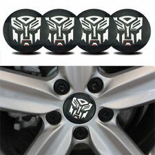 Transformers Autobot Logo Car Alloy Wheel Center Hub Caps Replace Badge Emblem