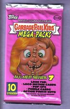 2007 Garbage Pail Kids All New Series 7 ANS 7 Unopened Sticker Mega Pack - RARE