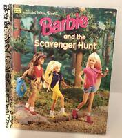 Barbie The Scavenger Hunt Little Golden Book 9780307301994 Ebay