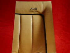 "AUDI 80 B3 100 C3 Coupe ""Classic Line"" Sondermodelle Prospekt von 1990"