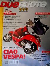 Dueruote 51 2009 Prova GTS 125 Super. Ducati Streetfighter S e Buell 1125  [Q76]