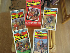 Boxed Set William (Box 1 ) 4 Books by Richmal Crompton P/B Vintage 1984