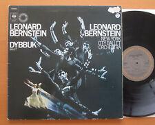 CBS 76486 Bernstein Conducts Dybbuk Ballet New York City Ballet NM/VG Gatefold