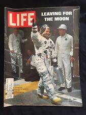 Vintage Life Magazine July 25 1969 Moon Landing Launch Astronauts