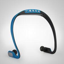 MP3 Player &Ear-Loop Wireless Headset Earphone TF Slot for Running Jogging Sport