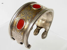 Antik Turkmen Tekke Bracelet Armspange antique Cuff autres Bracelets (Bilezik) 17/483