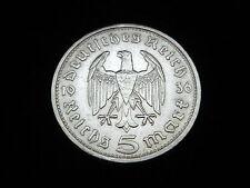 Münzen des dritten Reichs mit berühmter Persönlichkeit
