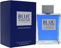 ANTONIO BANDERAS BLUE SEDUCTION EAU DE TOILETTE EDT - MEN'S FOR HIM. NEW 200 Ml