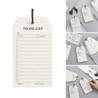 Daily Calendar List Planner Notebook Study Work Notepad Supplies Stationery Q5A2