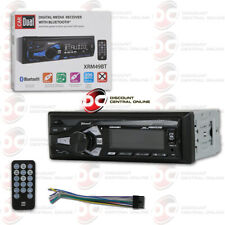 DUAL XRM49BT MP3 USB RECEIVER AM/FM DIGITAL MEDIA CAR STEREO WITH BLUETOOTH