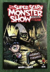 The Super-Scary Monster Show featuring Little Gloomy #2 Slave Labor Modern vf