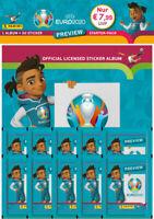 Panini - EURO 2020 Sticker Preview - Sammelsticker - 1 x Starterpack