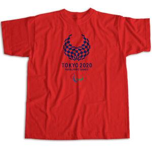 Summer Paralympic Games Symbol 2020 Mens Womens Kids Unisex Tee T-Shirt