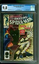 Amazing Spider-Man 256 CGC 9.8 NM/MINT 1st app Puma Black Cat Marvel 1984