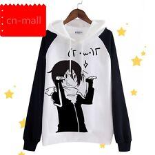 Anime Noragami Yato Unisex Casual Jacket Sweatshirt Hoodie Coat Christmas Gift