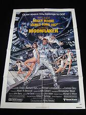 MOONRAKER 1979 *  ROGER MOORE JAMES BOND 007 * 27x41 ONE SHEET * C10 MINT UNUSED