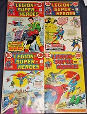 LEGION OF SUPER-HEROES #1-4 Full Set! 1973 DC SUPERBOY Reprints early Key Issues