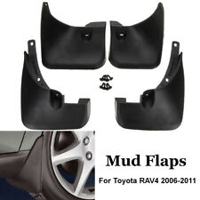 4Pcs Car Front & Rear Mud Flaps Guards Splash Mudguards For Toyota RAV4 06-11