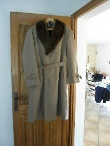 trench homme doublé taille XL