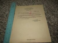 WWII 1942 Surgeon of the 12th Armored Division Document