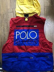 Gilet  Ralph Lauren Polo Sport Ski Vest Jacket Tech New S