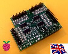 I/O Pi ioPi  SPI 23s17 x4 64 GPIO Board for Raspberry Pi A B A+ B+ B2 B3