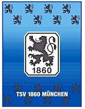 1860 München Decke Fleece 150x200 cm Fleecedecke Lions waschbar Freizeit Sofa