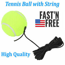 Tennis Training Ball with 4m Elastic Rope Ball Elastic String Trainer Practice