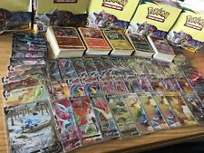 100 x Pokemon Cards Bundle With GX EX V or VMAX GUARANTEED NEW & OLD SETS