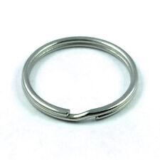 6 pcs 25mm Stainless Steel split rings 1 inch
