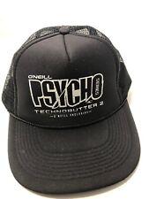O'Neill Psycho Series Technobutter 2 Snapback Trucker Cap by Otto Wetsuit VTG