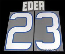 Sampdoria eder 23 2012/13 Football Shirt Name/Number Set Kit Home